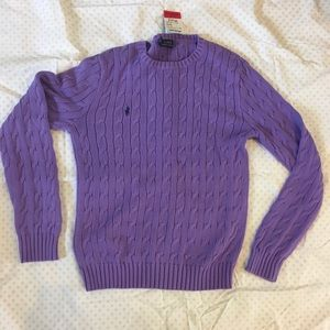Purple Ralph Lauren Sweater